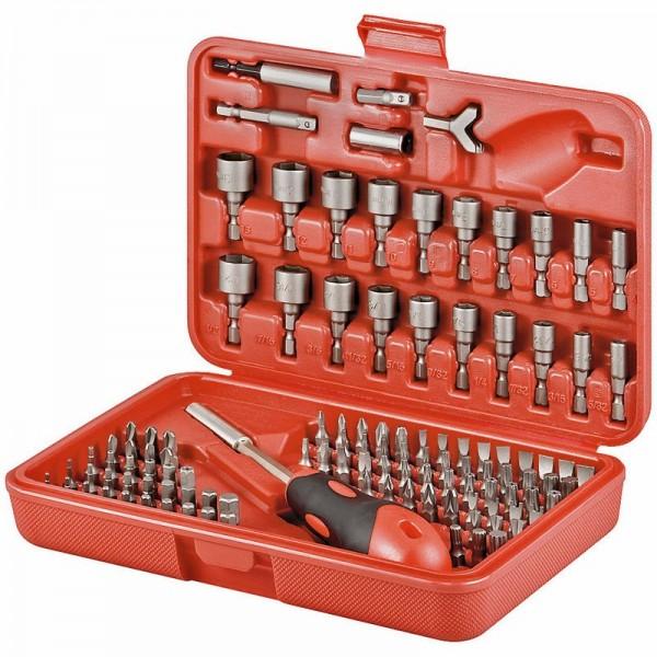 Bitsatz 113-teilig aus hochwertigem S2 Werkzeugstahl