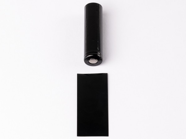 PVC Wärmeschrumpfschlauch ø18,12 mm x 70 mm für 18650 Zellen