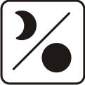 Mondphasenanzeige